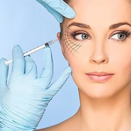 Three dimensional design for gel and Botox injection